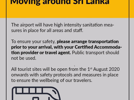 Post Covid-19 (4) -  Moving around in Sri Lanka