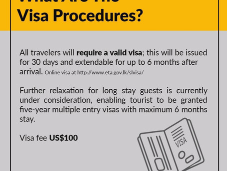 Post Covid-19 (5) -  What are the Visa procedures?