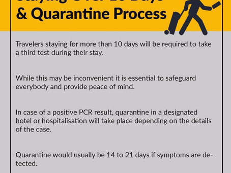 Post Covid-19 (7) -  Staying over 10 days & quarantine process
