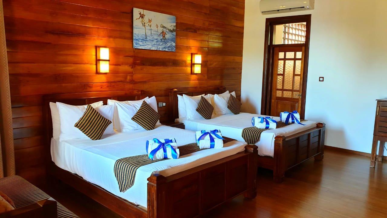 Royal Deluxe Ocean Front Quadruple room