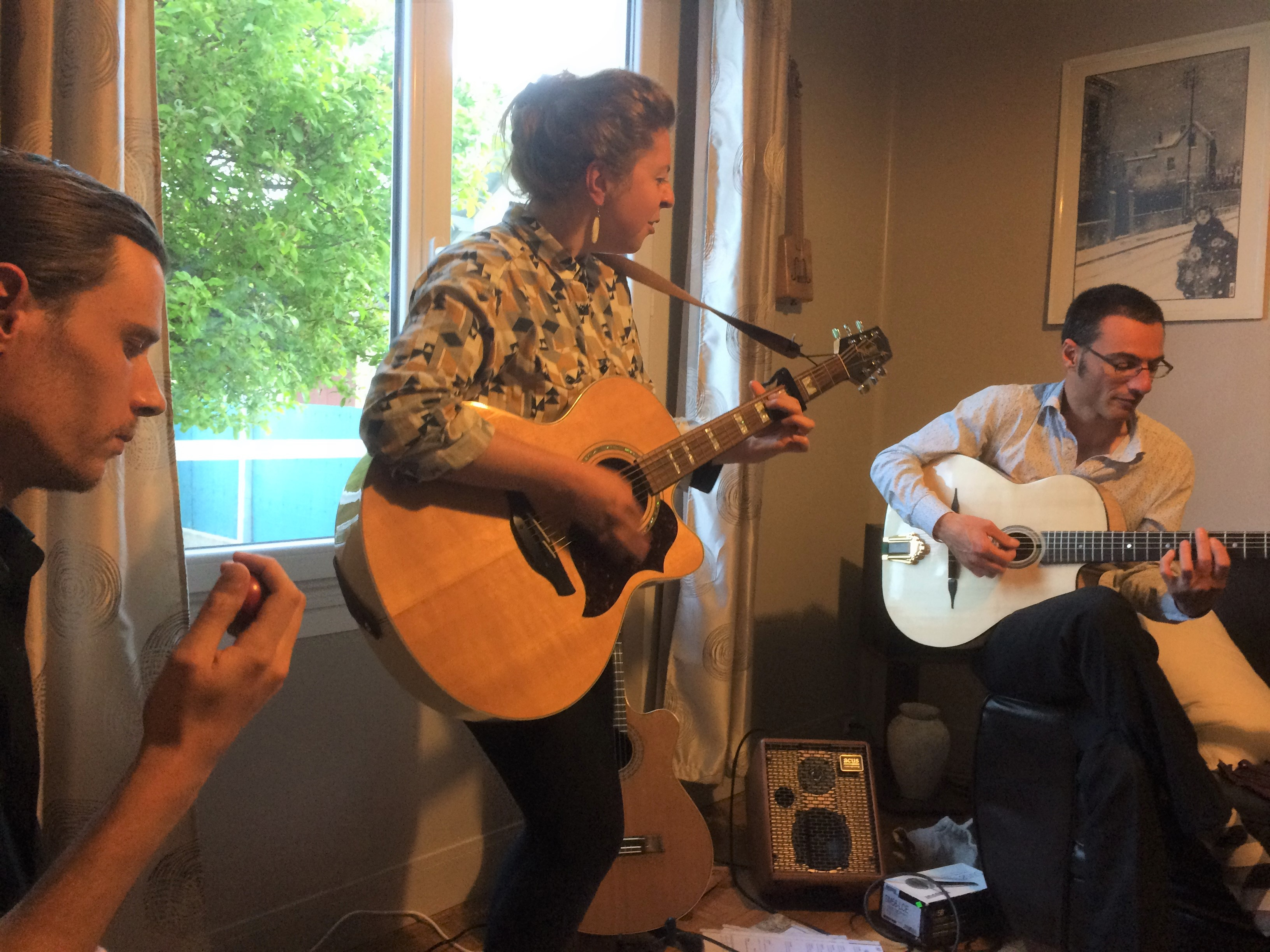 May 6th - Living Room Concert | Paris