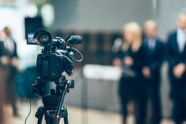 câmera de gravação de vídeo
