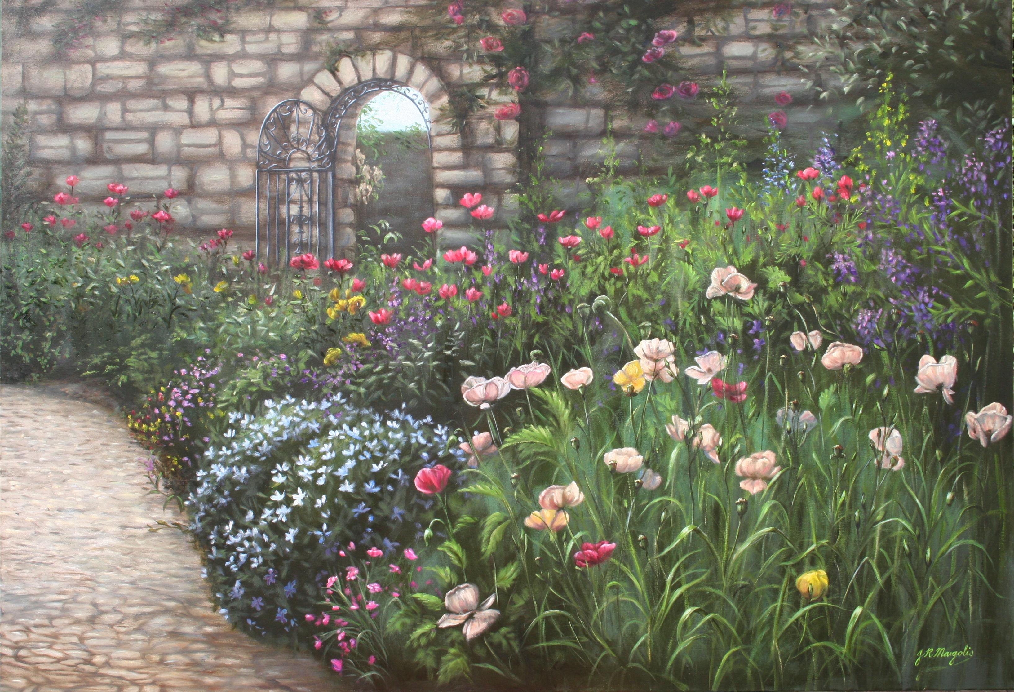 Garden scene for Karen