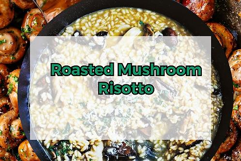 Creamy Roasted Mushroom Risotto
