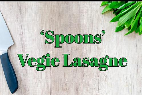 'Spoons' Veggie Lasagne