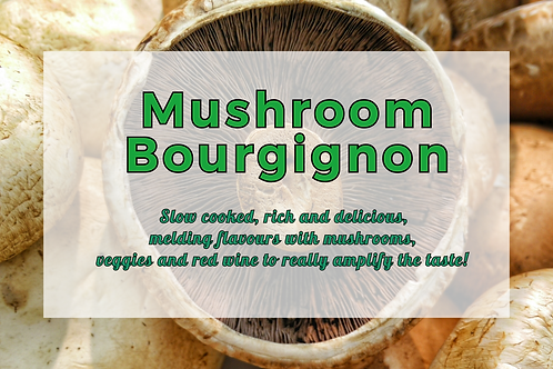 Mushroom Bourgignon