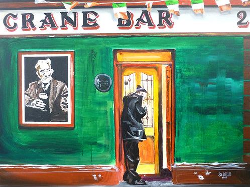 """""""Crane Bar poet"""""""