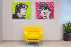 Lennon and Ringo