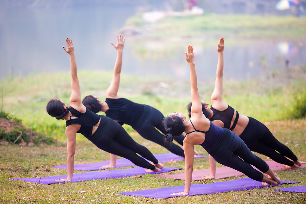 Osha Ruah Jenni Crumpton Group Yoga Clas