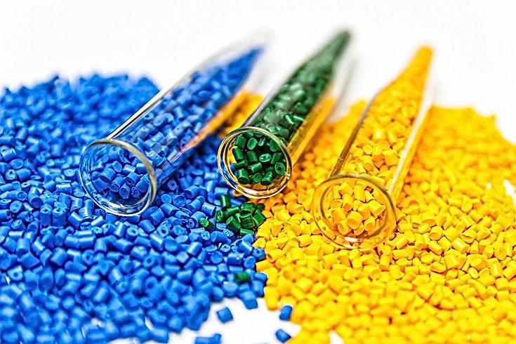 Polymeric dye. Plastic pellets. Colorant