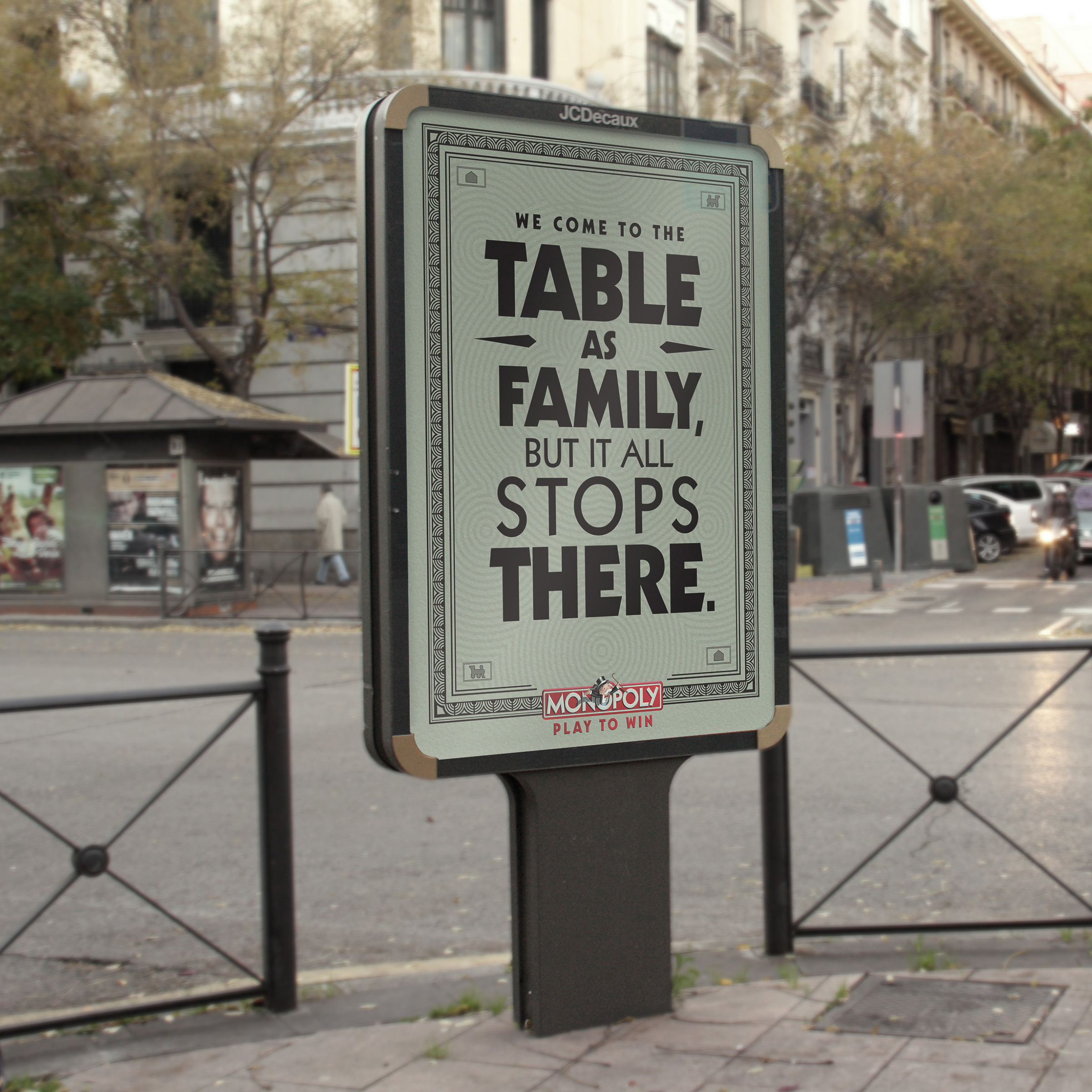 Monopoly Street Poster