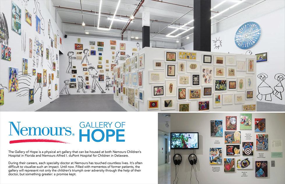 Nemours Gallery of Hope Concept Board.jp