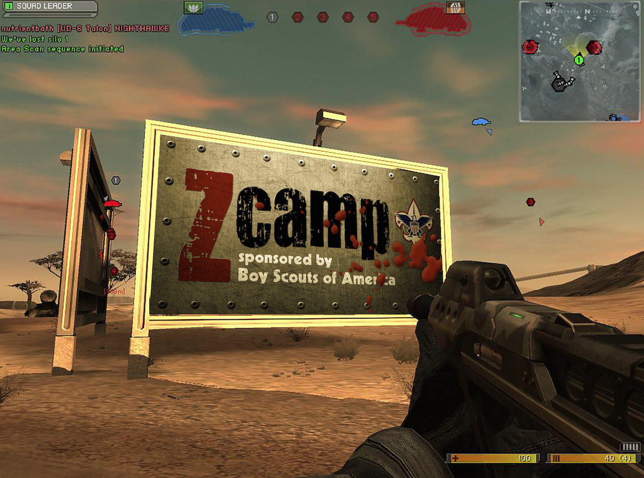 In Game Ad 2-Shooter