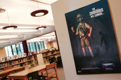 Zcamp Posters School Library Mockup