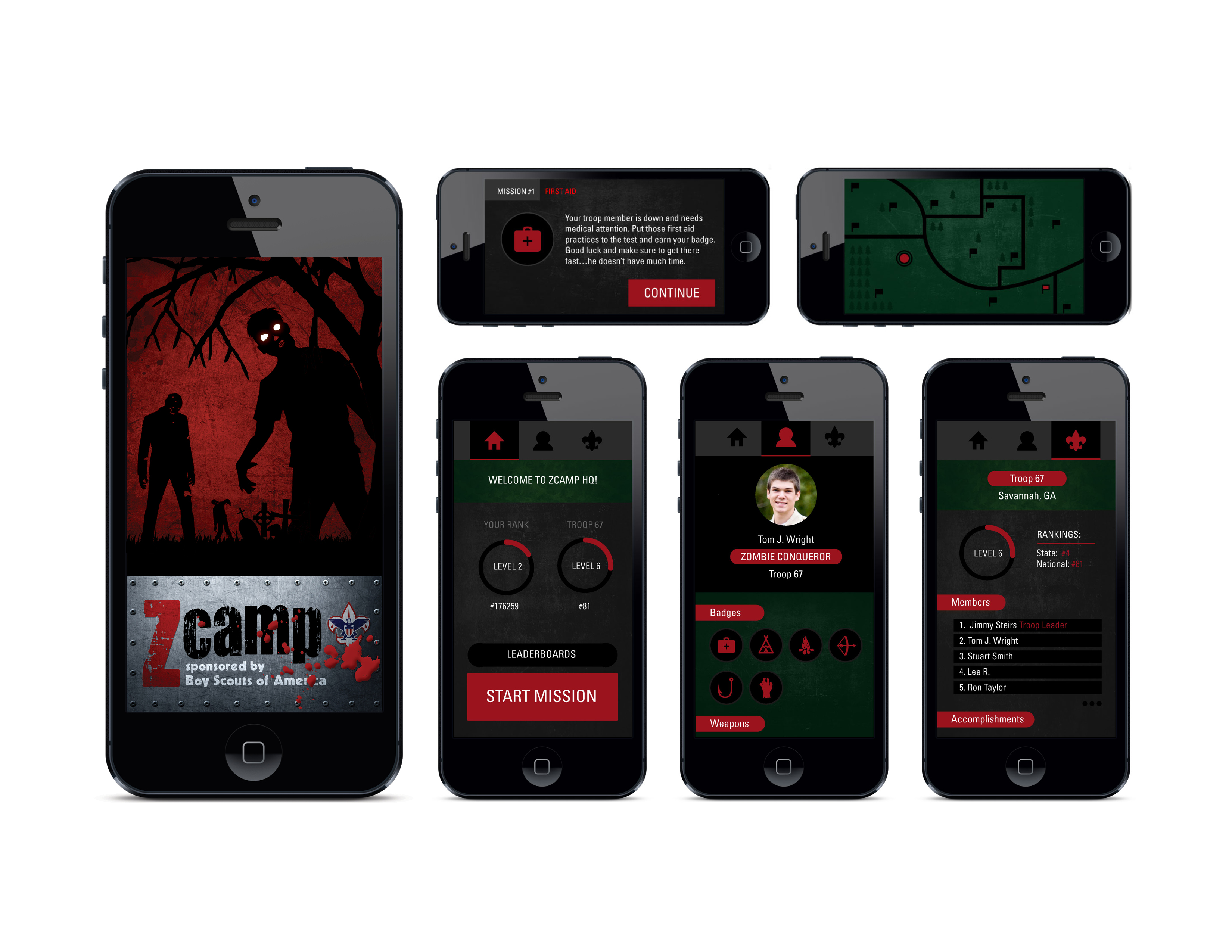Zcamp Mobile App