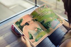 Hawaiian Tropic Print Ad Mock-up
