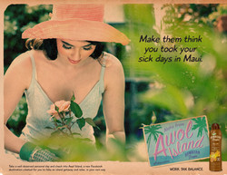 Hawaiian Tropic Print Ad