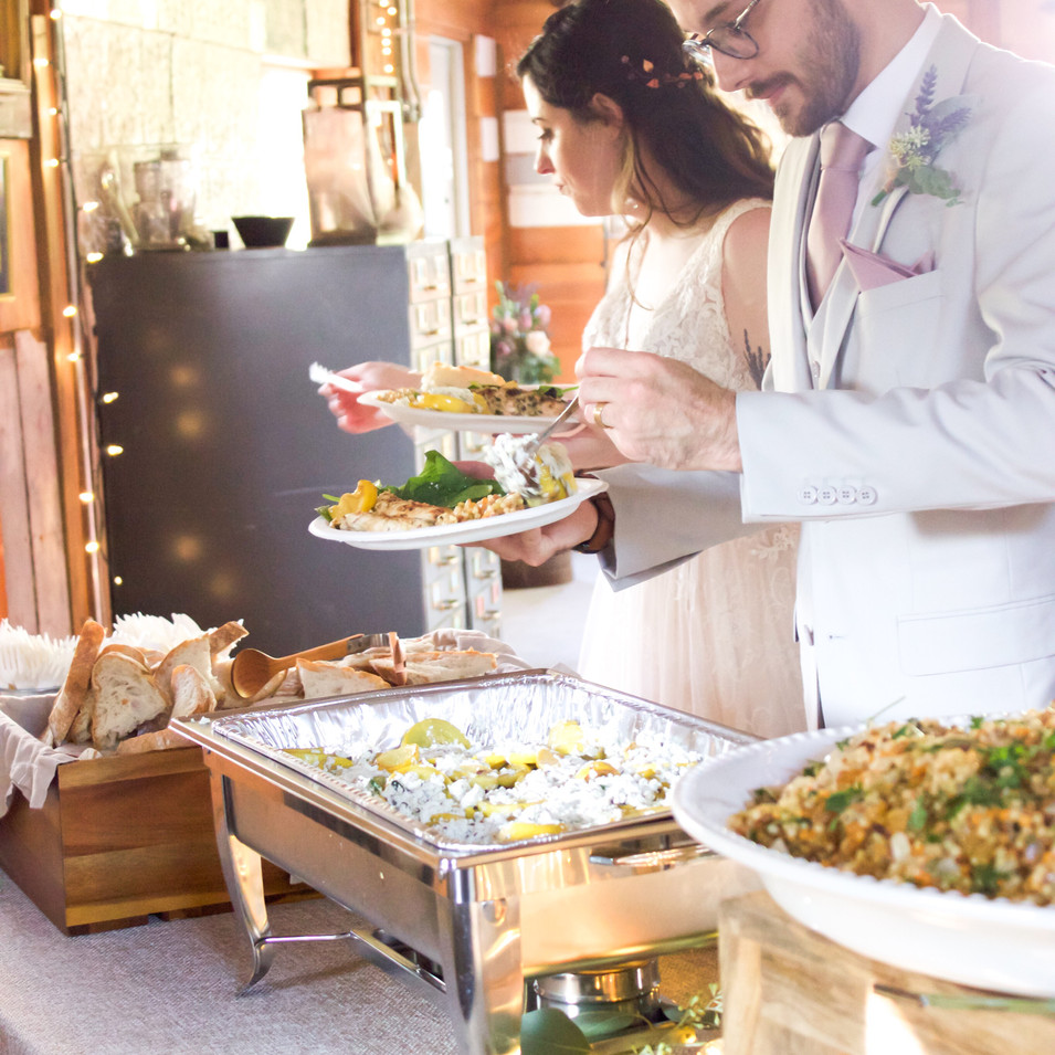 Kansas City Wedding Buffet