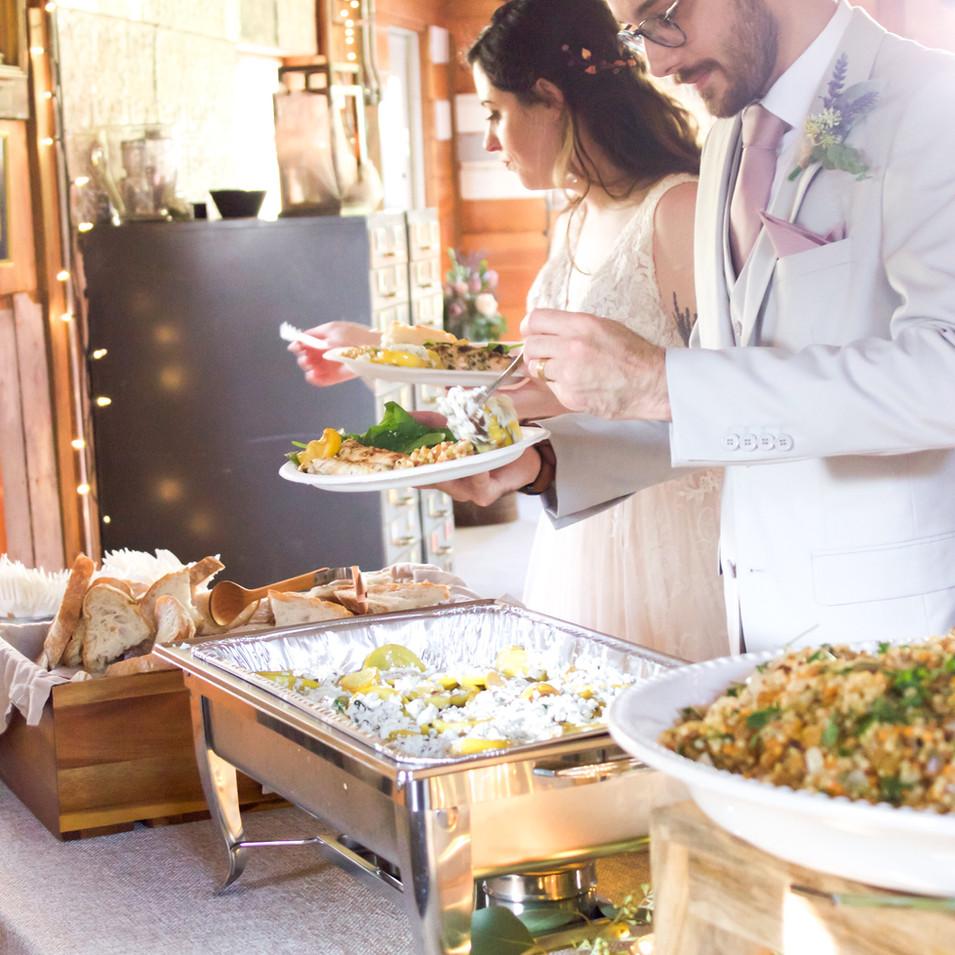 Kansas City Wedding Buffet
