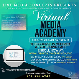 Virtual Media Academy - Made with Poster