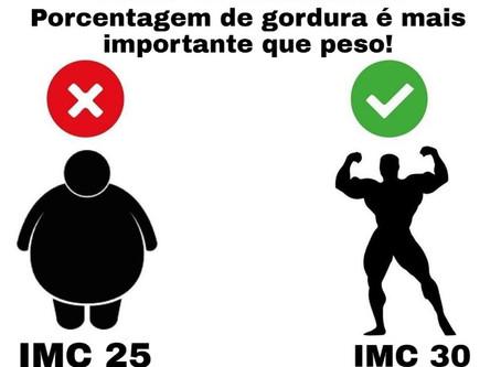 Qual melhor índice: IMC ou Porcentagem de Gordura???