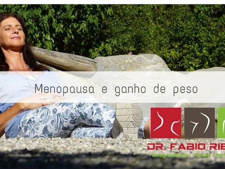 Menopausa e ganho de peso!!!