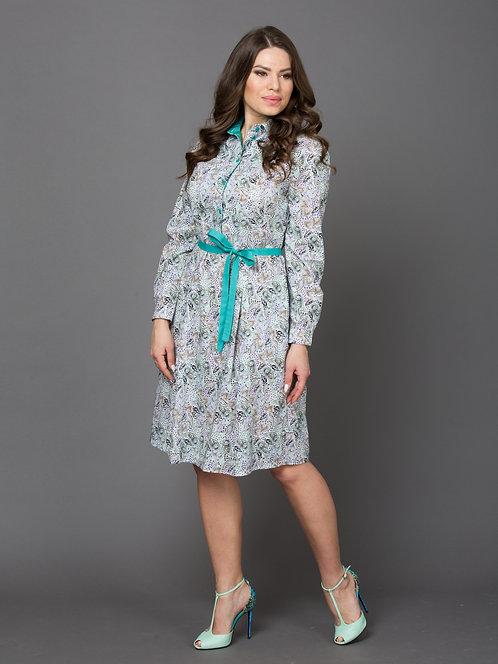 Платье, хлопок/модал