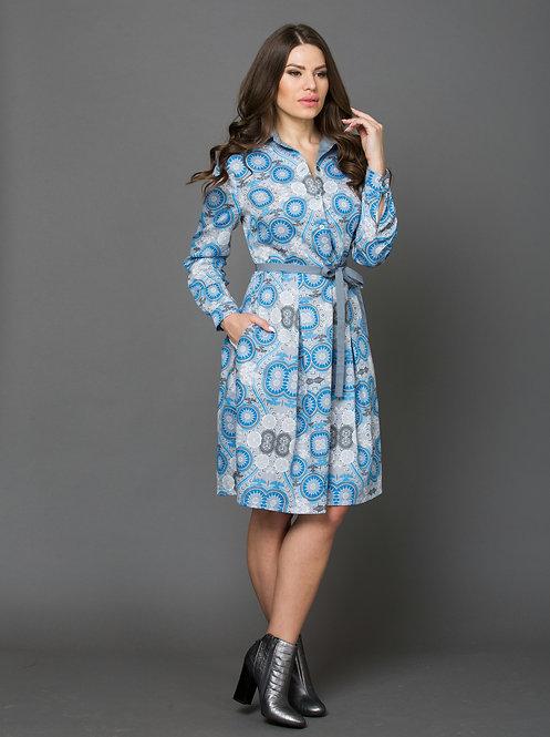 Платье, хлопок сатин