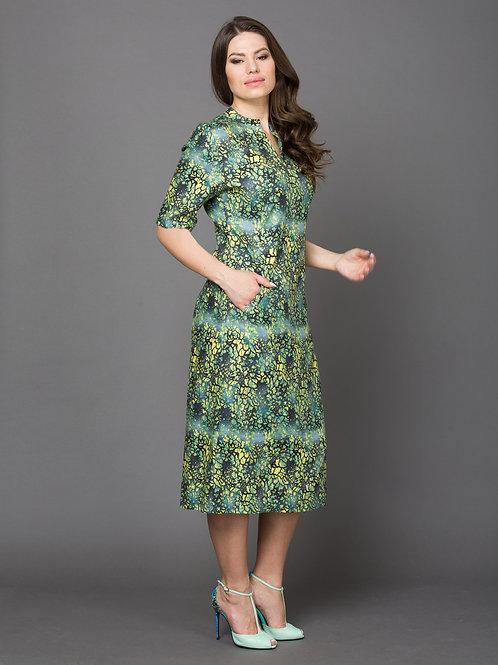 Платье, вискозный твил