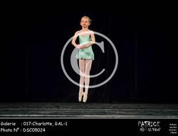 017-Charlotte, GAL-1-DSC05024