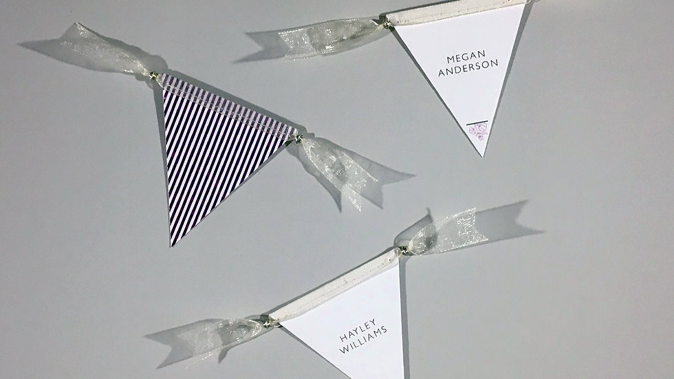 Dainty Floral Place Cards