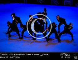 _Partie 2, 17--Men in black - Men in animal--DSC01258
