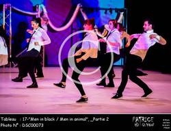 _Partie 2, 17--Men in black - Men in animal--DSC00073