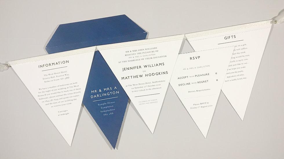 Deluxe Minimalist Wedding Invitation