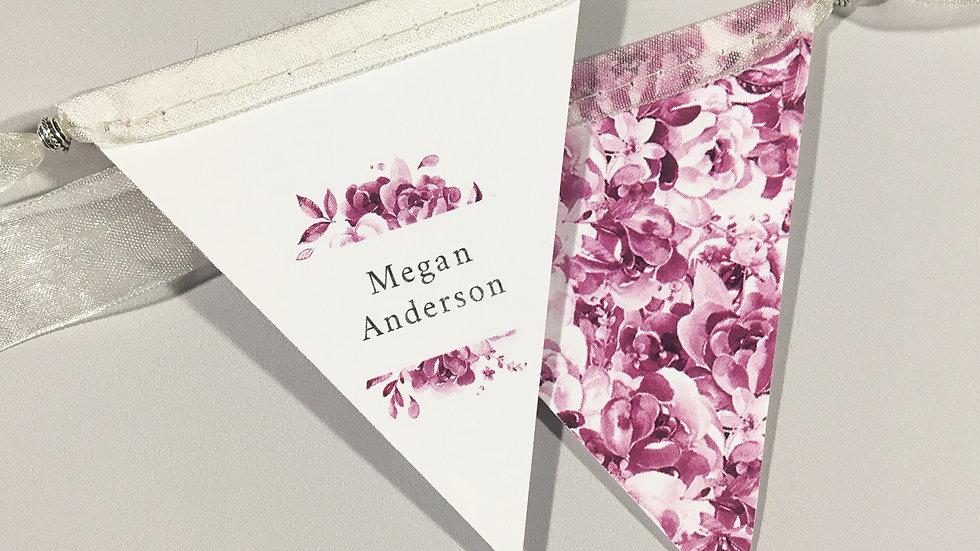 Bouquet Place Cards