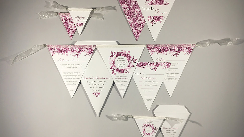 The Little Wedding Stationery Package