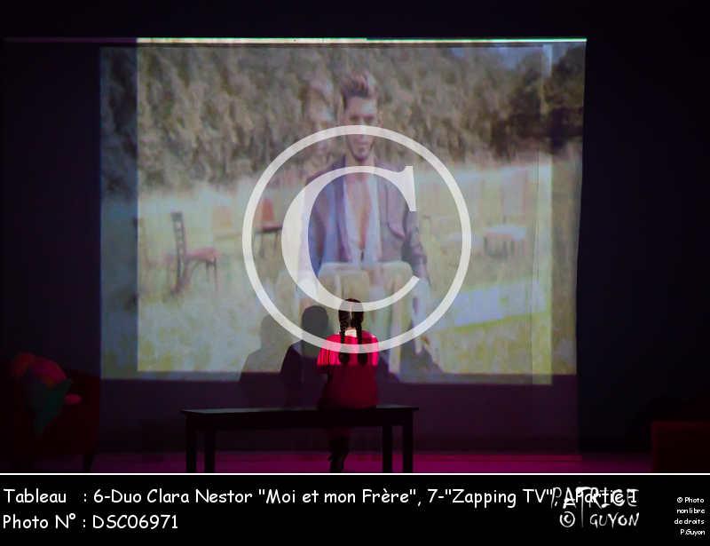 _Partie 1, 6-Duo Clara Nestor -Moi et mon Frère-, 7--Zapping TV--DSC06971