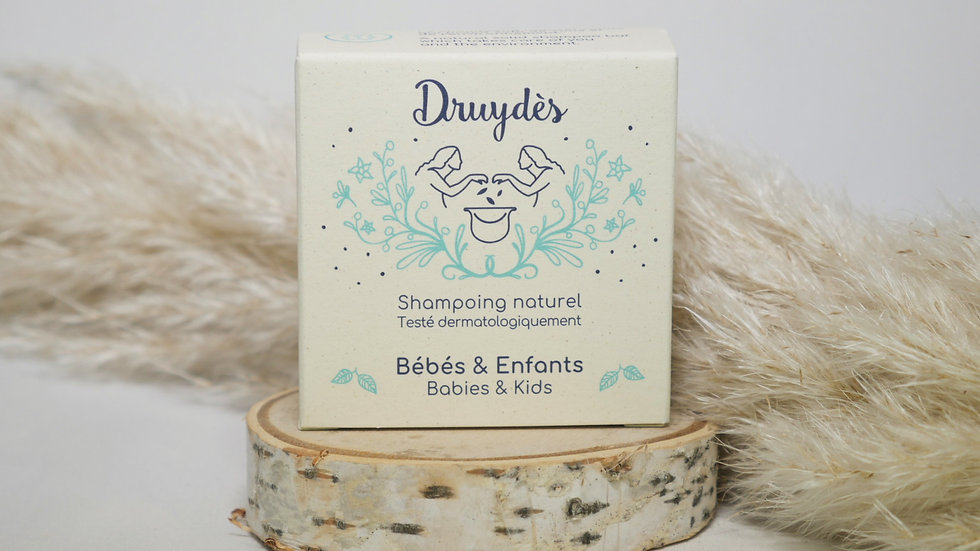 Shampoing solide bébé- Druydès