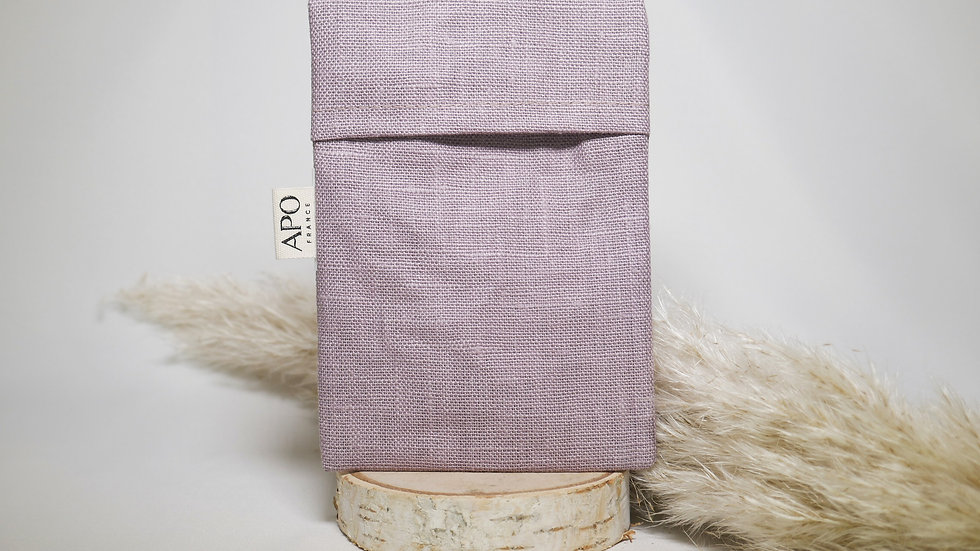 Pochon à savon en lin induit - APO