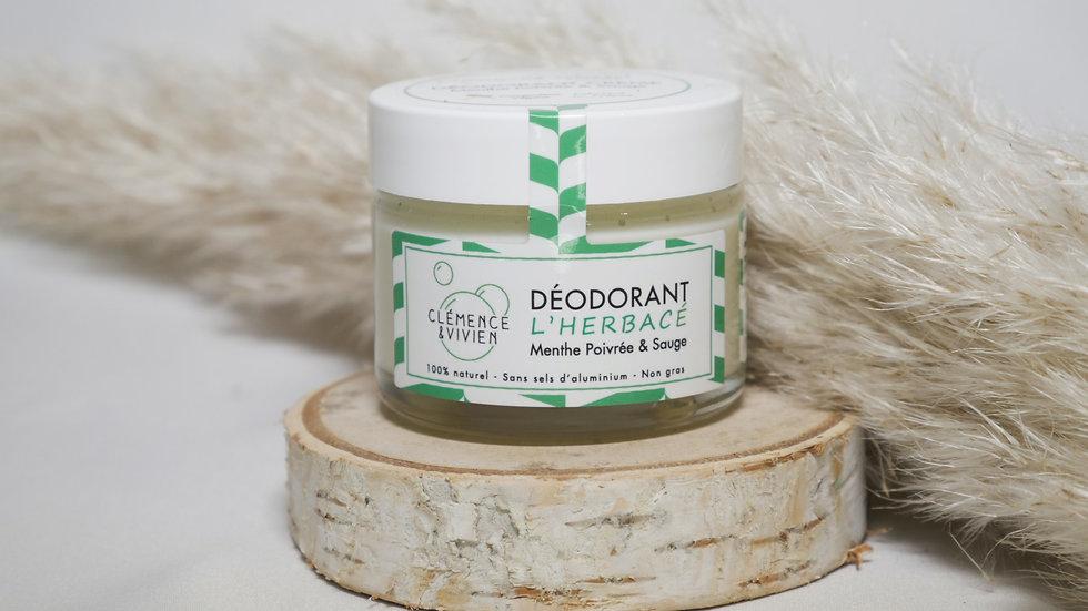 Déodorant naturel l'Herbacé - Clémence et Vivien