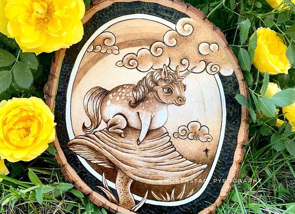 Lounging Unicorn