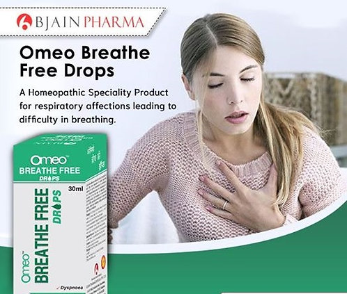 B Jain Omeo Breathe Free Drops Pack of 4