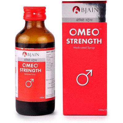 B Jain Omeo Strength Syrup (100ml) Pack of 3