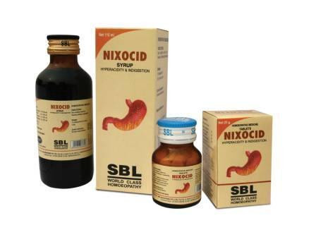 NIXOCID TABLETS & SYRUP FOR Heartburn, Acidity & Flatulence