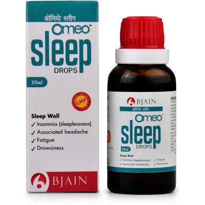B Jain Omeo Sleep Drops (30ml) Pack of 3