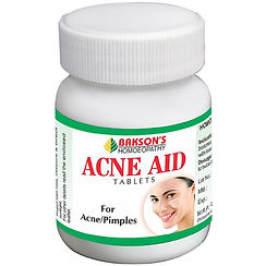 Bakson Acne Aid Tablets (75tab) Pack of 2