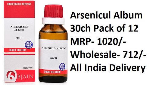 Bjain Arsenicum Album 30ch Pack of 12