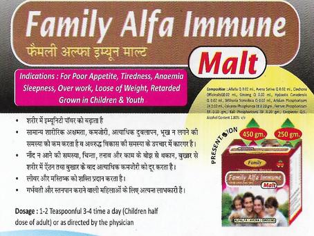 Family Alfa Immune Malt
