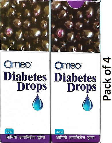 bjain Diabetes Drops For Diabetes Liquid 30 ml Pack Of 4