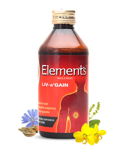Elements Liv-aGain Liquid 200ML Pack of 2